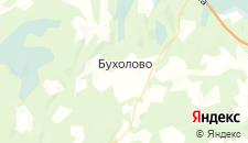 Отели города Бухолово на карте