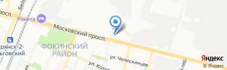 Премьера на карте Брянска
