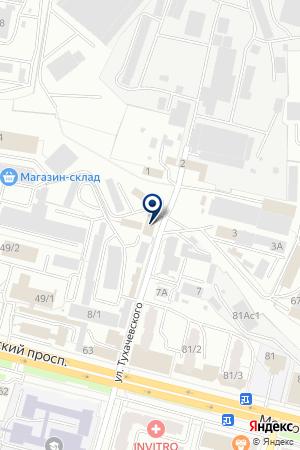 ТРАНСПОРТНО-ЭКСПЕДИТОРСКАЯ КОМПАНИЯ РЕГИОН-АВТО на карте Брянска