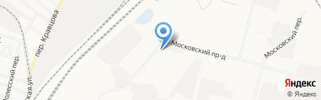 СНАБЖЕНИЕ на карте Брянска