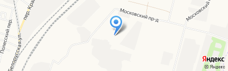 Стройгазсервис на карте Брянска