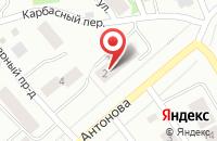 Схема проезда до компании Карел-Стоун в Петрозаводске