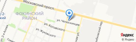 GYM32 на карте Брянска