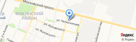 Аленка на карте Брянска