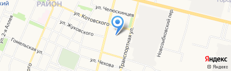 Детский сад №157 на карте Брянска