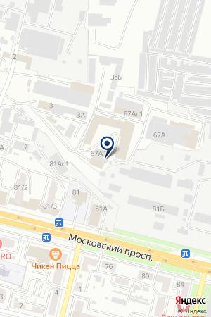 АПТЕКА МЭТР на карте Брянска