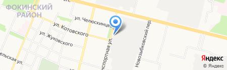 Брянская Логистическая Компания на карте Брянска