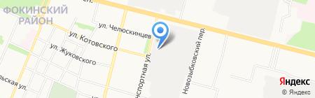 ТриоСтрой на карте Брянска