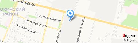 Оконный мастер ДИСА на карте Брянска