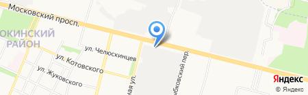 Паспарту Travel на карте Брянска
