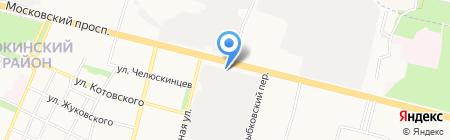 БрянскБизнесСтрой на карте Брянска