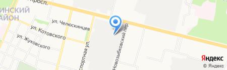 ГРАНТ на карте Брянска