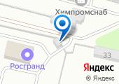 Автостоянка на Московском проезде на карте