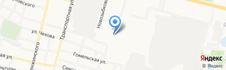 Общежитие №1 на карте Брянска