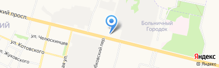 Мон Тур на карте Брянска