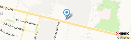 Новое время на карте Брянска