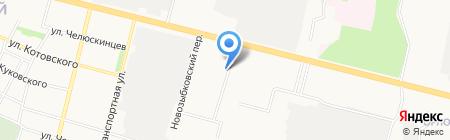 Поляна на карте Брянска
