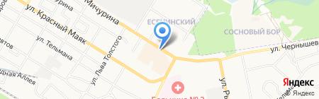Игрушки на карте Брянска