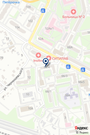 АПТЕЧНЫЙ ПУНКТ № 4 на карте Брянска