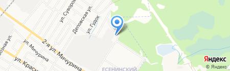 Аварийная ремонтная служба Володарского района на карте Брянска