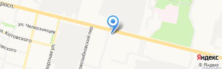 Плаза на карте Брянска