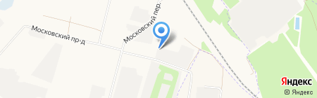 Брянскгазстрой на карте Брянска