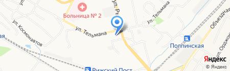 Радиотовары на карте Брянска