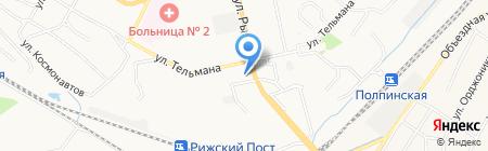 Лиза на карте Брянска