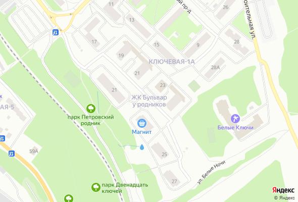 жилой комплекс Бульвар у Родников