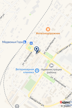 КОМПЬЮТЕРНЫЙ ЦЕНТР БОРОДКИНА Н.Н. на карте Медвежьегорска