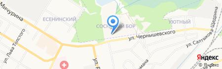 Дверкофф на карте Брянска