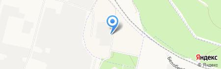 Лан на карте Брянска