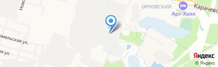 ДвероПол на карте Брянска