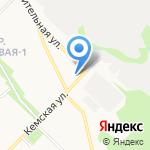 Юг-авто на карте Петрозаводска