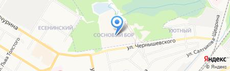 Подушки-обнимашки на карте Брянска