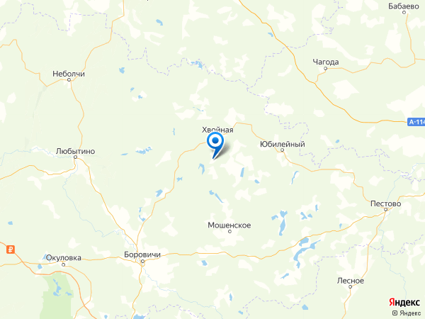 деревня Орел на карте