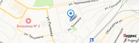 Средняя общеобразовательная школа №26 на карте Брянска