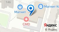 Компания ДВЕРИ+ на карте