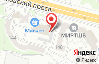 Схема проезда до компании Мастер-комп в Брянске