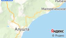 Гостиницы города Семидворье на карте