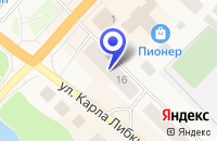 Схема проезда до компании МУП ЮВЕЛИРНЫЙ МАГАЗИН ТЕМП в Медвежьегорске