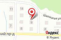 Схема проезда до компании Новый Сайнаволок в Петрозаводске