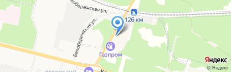 Строй-Песок на карте Брянска