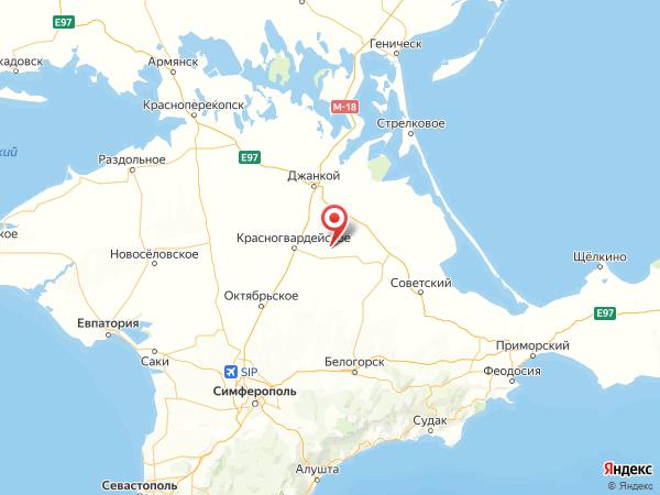 село Климово на карте