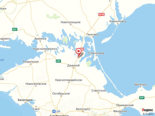 село Ермаково на карте