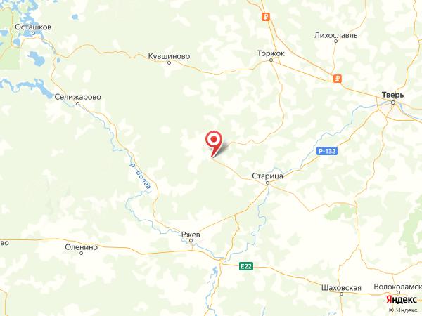 деревня Кузнецовка на карте
