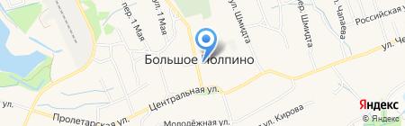 Администрация пос. Большое Полпино на карте Брянска