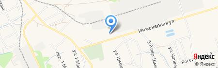 Металлград на карте Брянска