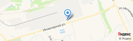 МБК на карте Брянска