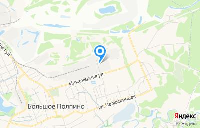 Местоположение на карте пункта техосмотра по адресу г Брянск, рп Большое Полпино, ул Инженерная, д 29